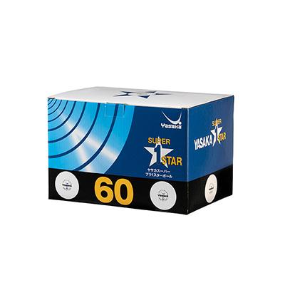Yasaka Super X plastic 60-pack