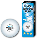 Yasaka 3-pack ball AB40+