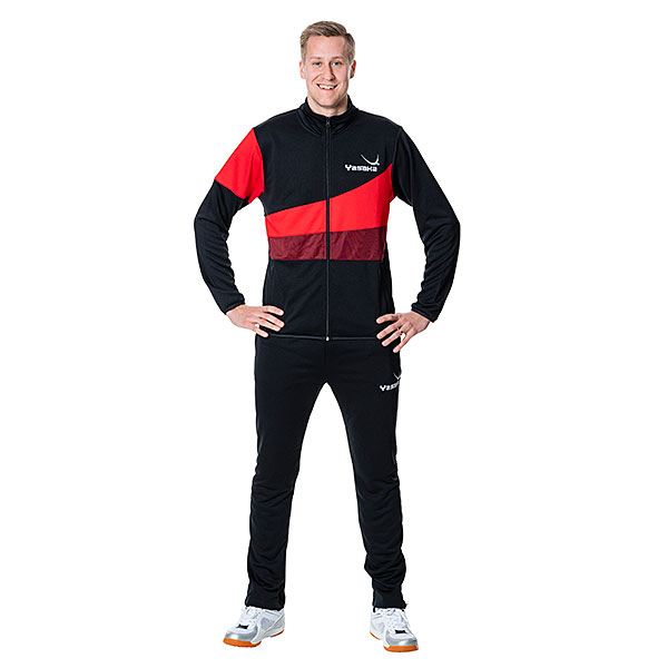Tracksuit Pollux red